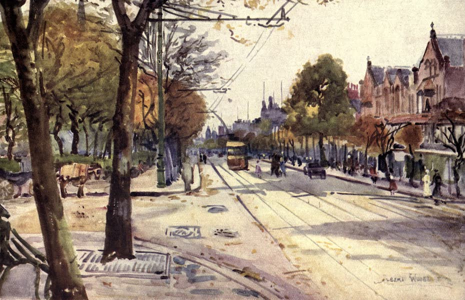Lancashire Painted and Described - Lord Street, Southport (1921)