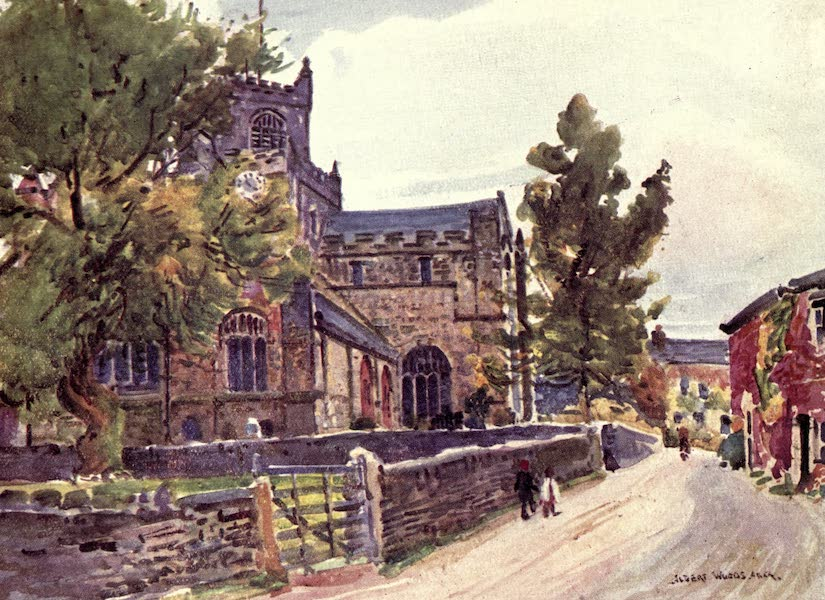 Lancashire Painted and Described - The Priory Church, Cartmel (1921)