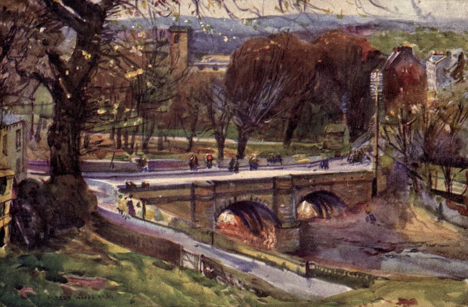 Lancashire Painted and Described - Whalley: The Church and Village (1921)