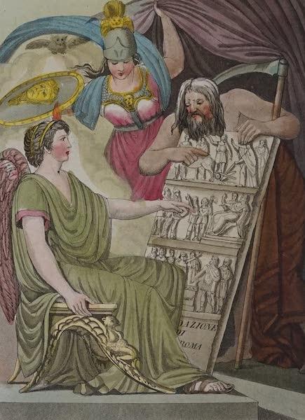 L'antica Roma, Ovvero, Descrizione Storica e Pittorica - Secondo Frontispizio (1825)