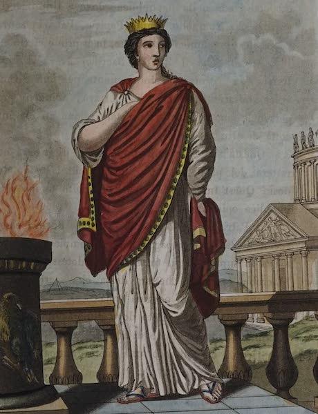 L'antica Roma, Ovvero, Descrizione Storica e Pittorica - Regina dei Sacrificj (1825)