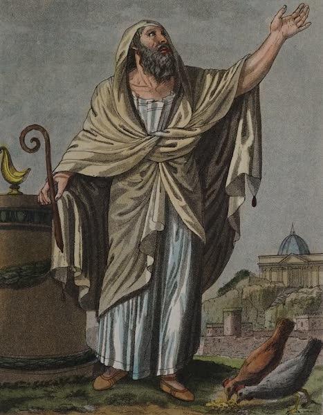 L'antica Roma, Ovvero, Descrizione Storica e Pittorica - Augure (1825)