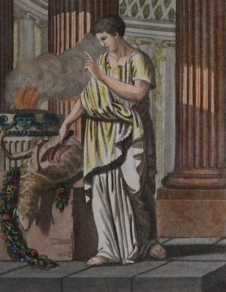 L'antica Roma, Ovvero, Descrizione Storica e Pittorica - Aruspice (1825)