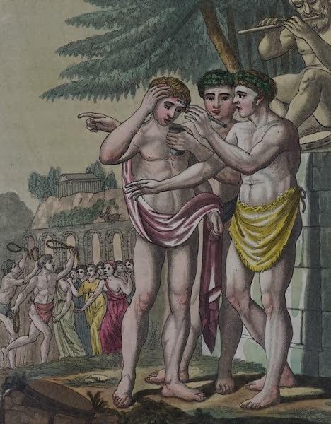 L'antica Roma, Ovvero, Descrizione Storica e Pittorica - Luperci (1825)