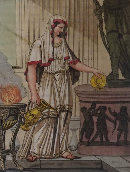 L'antica Roma, Ovvero, Descrizione Storica e Pittorica - Vestale (1825)