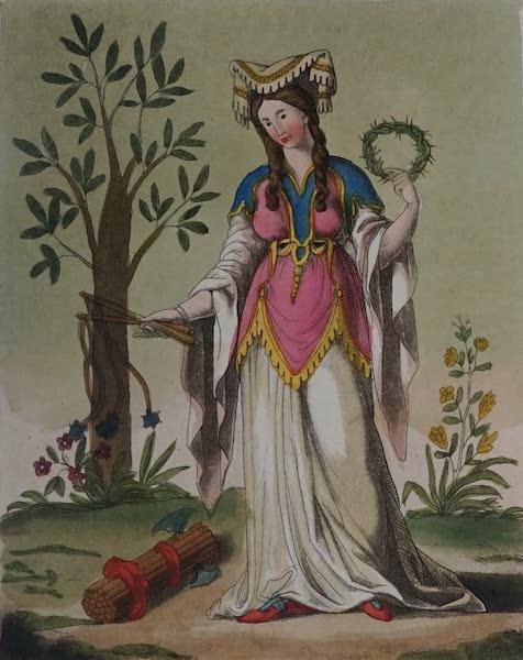 L'antica Roma, Ovvero, Descrizione Storica e Pittorica - Sibilla di Delfo (1825)