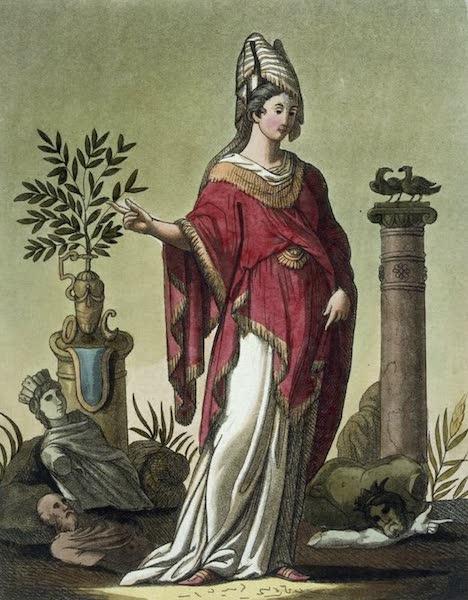 L'antica Roma, Ovvero, Descrizione Storica e Pittorica - Sibilla Eritrea (1825)
