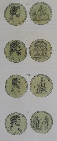 L'antica Roma, Ovvero, Descrizione Storica e Pittorica - Tavola di antiche Medaglie (1825)