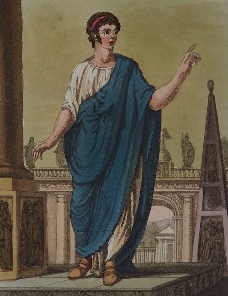 L'antica Roma, Ovvero, Descrizione Storica e Pittorica - Cittadino postulante un impiego (1825)