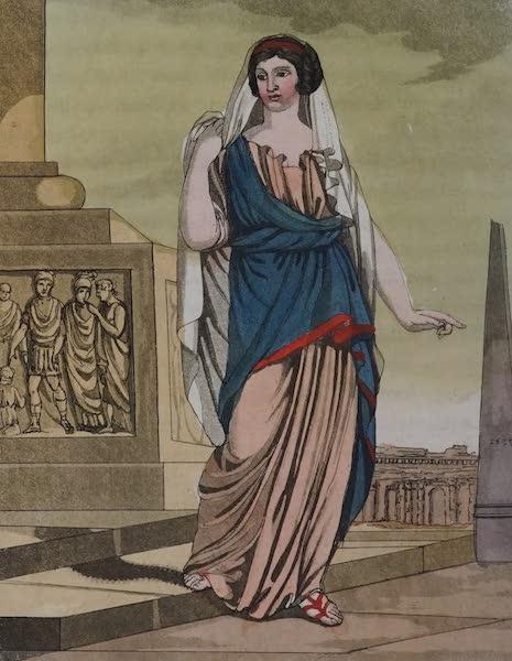 L'antica Roma, Ovvero, Descrizione Storica e Pittorica - Cittadina romana (1825)