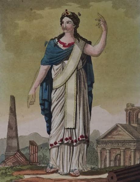 L'antica Roma, Ovvero, Descrizione Storica e Pittorica - Dama romana (1825)