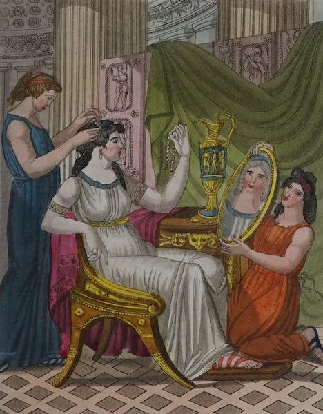 L'antica Roma, Ovvero, Descrizione Storica e Pittorica - Toeletta delle Dame (1825)