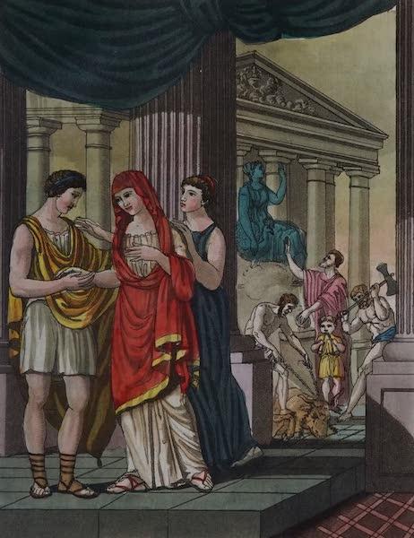 L'antica Roma, Ovvero, Descrizione Storica e Pittorica - Matrimonio de' Romani (1825)