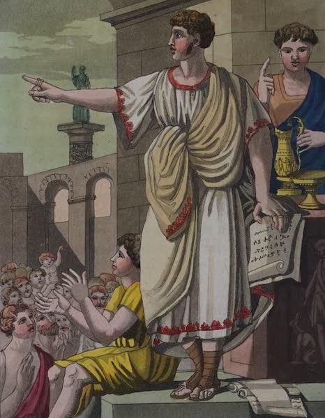L'antica Roma, Ovvero, Descrizione Storica e Pittorica - Oratore (1825)