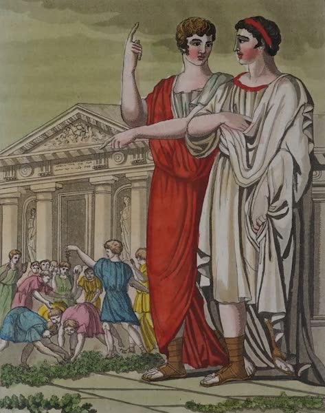 L'antica Roma, Ovvero, Descrizione Storica e Pittorica - Candidato (1825)
