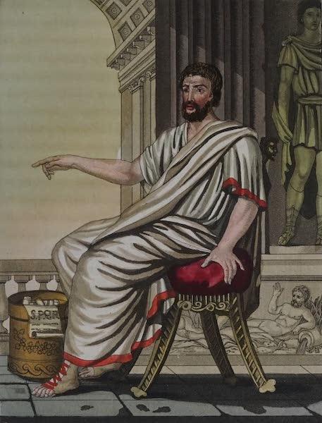 L'antica Roma, Ovvero, Descrizione Storica e Pittorica - Senatore (1825)