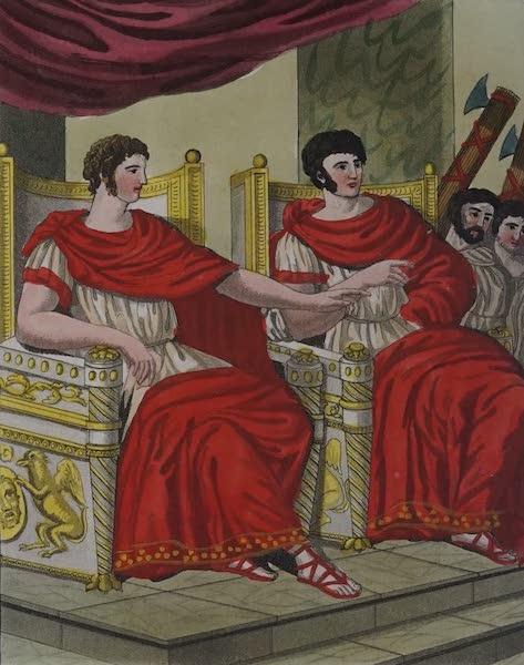 L'antica Roma, Ovvero, Descrizione Storica e Pittorica - Consoli (1825)