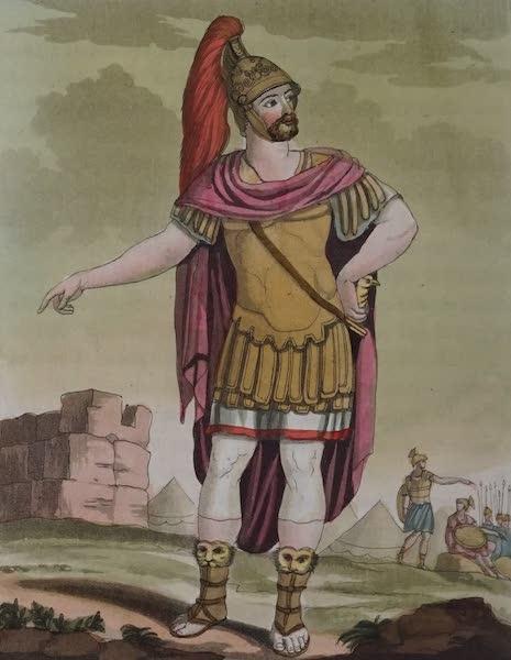 L'antica Roma, Ovvero, Descrizione Storica e Pittorica - Console all'armata (1825)