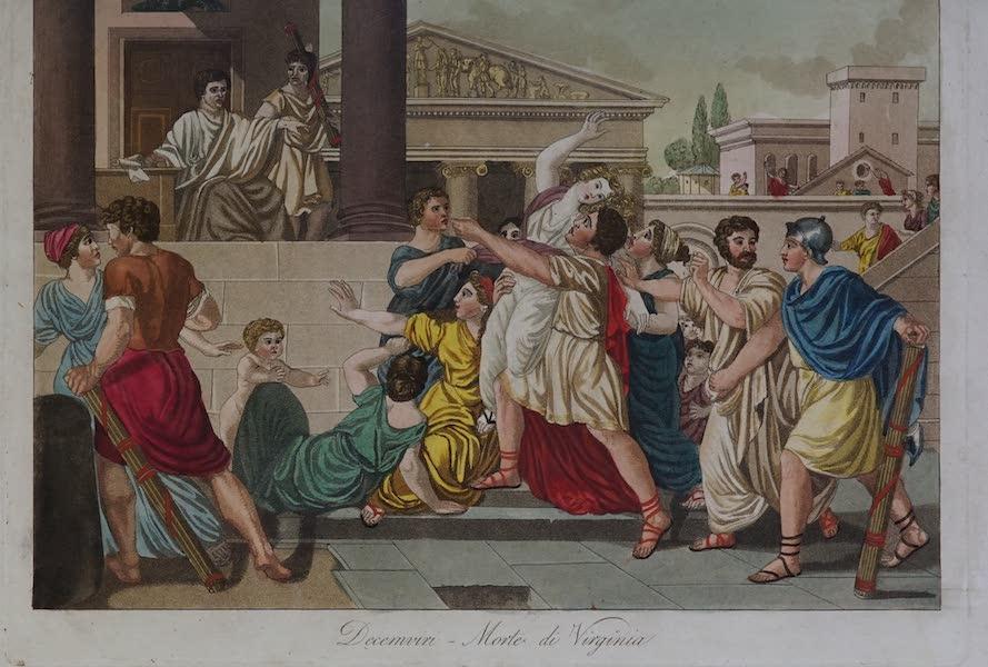 L'antica Roma, Ovvero, Descrizione Storica e Pittorica - Decemviri - Morte di Virginia (1825)