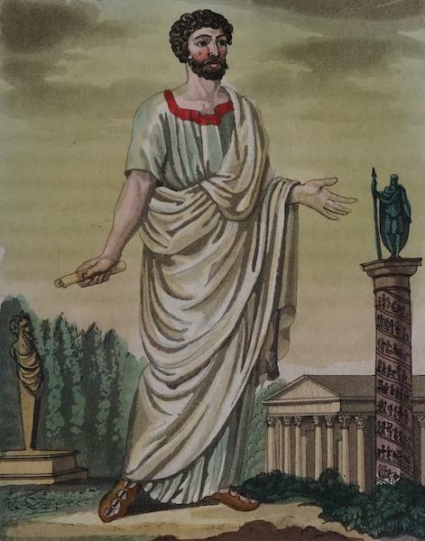 L'antica Roma, Ovvero, Descrizione Storica e Pittorica - Tribuno (1825)