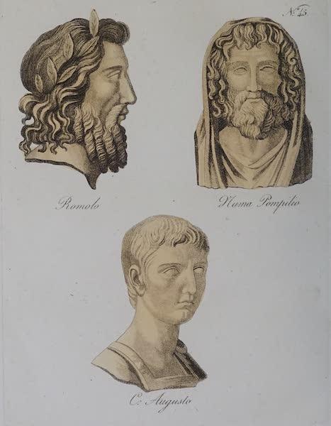 L'antica Roma, Ovvero, Descrizione Storica e Pittorica - Romolo-Numa-Augusto (1825)