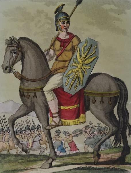 L'antica Roma, Ovvero, Descrizione Storica e Pittorica - Cavaliere Arciere (1825)