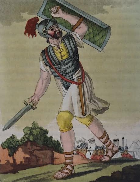 L'antica Roma, Ovvero, Descrizione Storica e Pittorica - Soldato romano (1825)