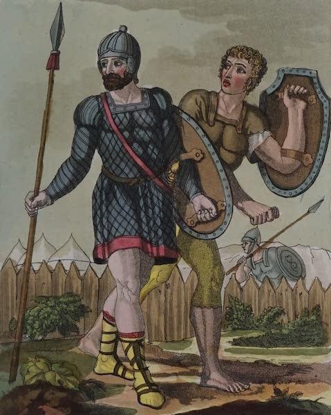 L'antica Roma, Ovvero, Descrizione Storica e Pittorica - Legionarj e Veliti (1825)