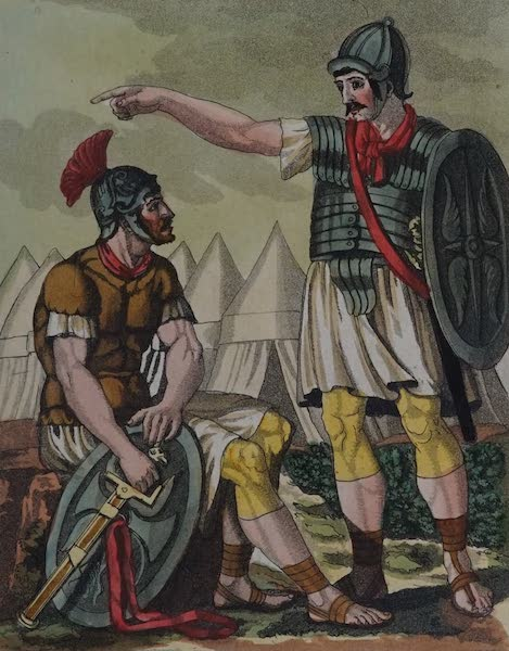 L'antica Roma, Ovvero, Descrizione Storica e Pittorica - Pretoriani (1825)