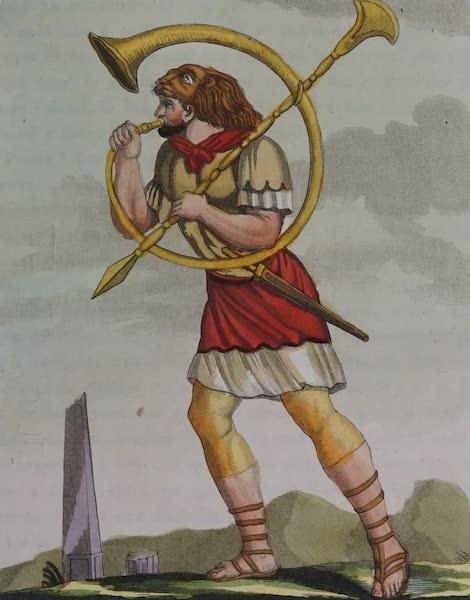 L'antica Roma, Ovvero, Descrizione Storica e Pittorica - Buccinatore (1825)