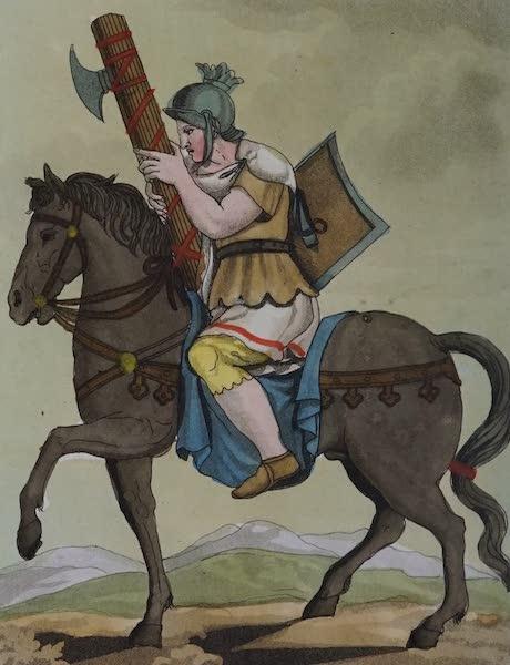 L'antica Roma, Ovvero, Descrizione Storica e Pittorica - Littore a cavallo (1825)