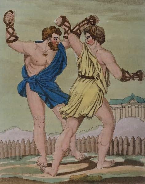 L'antica Roma, Ovvero, Descrizione Storica e Pittorica - Gladiatori-pugliati (1825)
