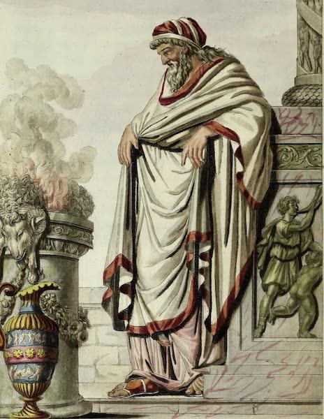 L'antique Rome, ou, Description Historique et Pittoresque - Grand pontife (1796)