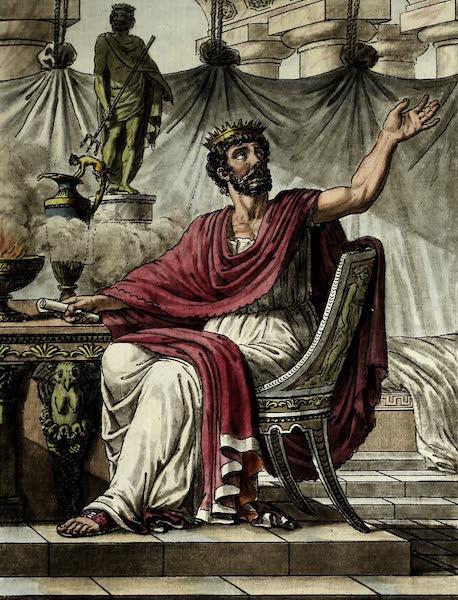 L'antique Rome, ou, Description Historique et Pittoresque - Roi des sacrifices (1796)