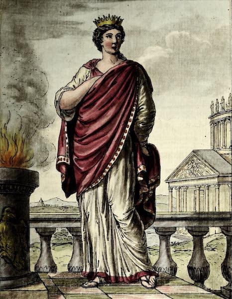 L'antique Rome, ou, Description Historique et Pittoresque - Reine des sacrifices (1796)
