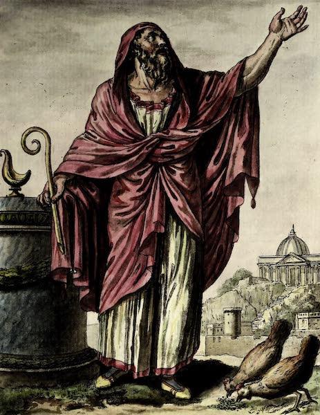 L'antique Rome, ou, Description Historique et Pittoresque - Augure romain (1796)