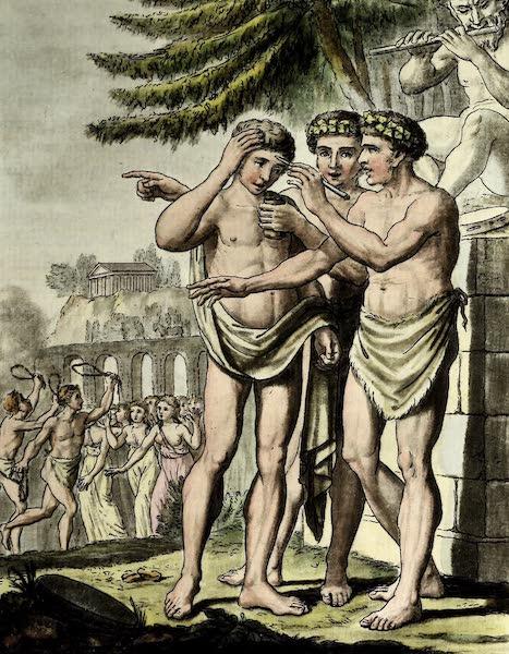 L'antique Rome, ou, Description Historique et Pittoresque - Pretres luperques (1796)