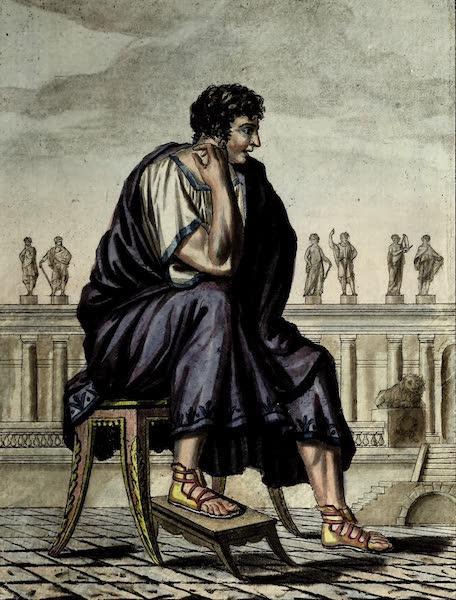 L'antique Rome, ou, Description Historique et Pittoresque - Citoyen romain (1796)