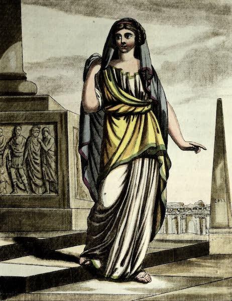 L'antique Rome, ou, Description Historique et Pittoresque - Citoyenne de Rome (1796)