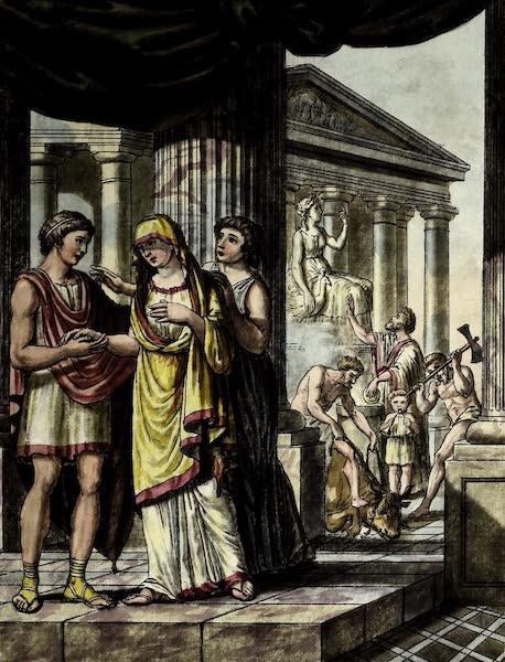 L'antique Rome, ou, Description Historique et Pittoresque - Mariage des romains (1796)