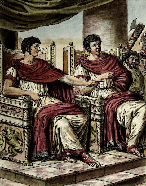 L'antique Rome, ou, Description Historique et Pittoresque - Consuls a Rome (1796)