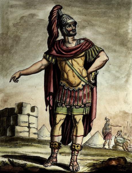 L'antique Rome, ou, Description Historique et Pittoresque - Consul a l'armee (1796)