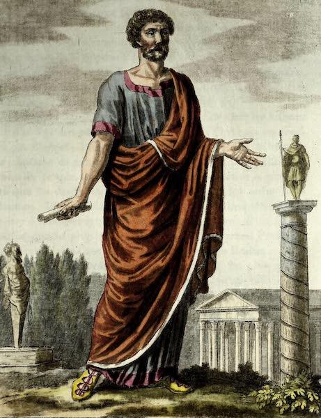 L'antique Rome, ou, Description Historique et Pittoresque - Tribun du peuple (1796)