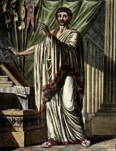 L'antique Rome, ou, Description Historique et Pittoresque - Questeur chez les romains (1796)