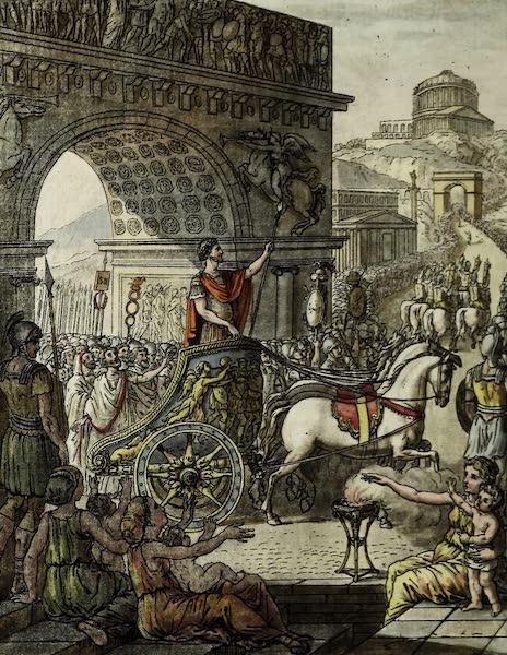 L'antique Rome, ou, Description Historique et Pittoresque - Triomphateur romain (1796)