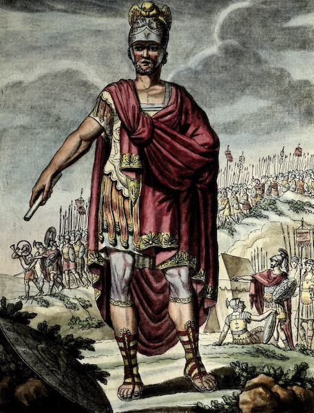 L'antique Rome, ou, Description Historique et Pittoresque - Dictateur romain (1796)