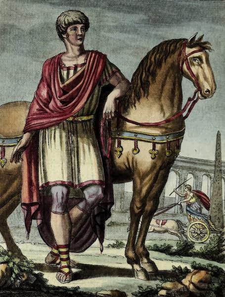 L'antique Rome, ou, Description Historique et Pittoresque - Chevalier romain (1796)