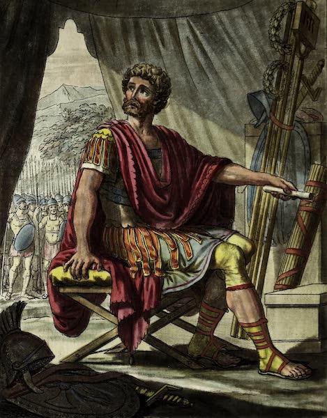 L'antique Rome, ou, Description Historique et Pittoresque - Tribun militaire (1796)