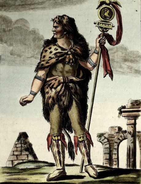 L'antique Rome, ou, Description Historique et Pittoresque - Porte-enseigne romain (1796)