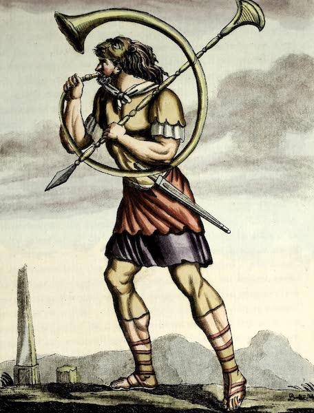 L'antique Rome, ou, Description Historique et Pittoresque - Buccinator romain (1796)